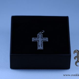 Pieni hopeinen ortodoksiristi, small silver orthdoxcross